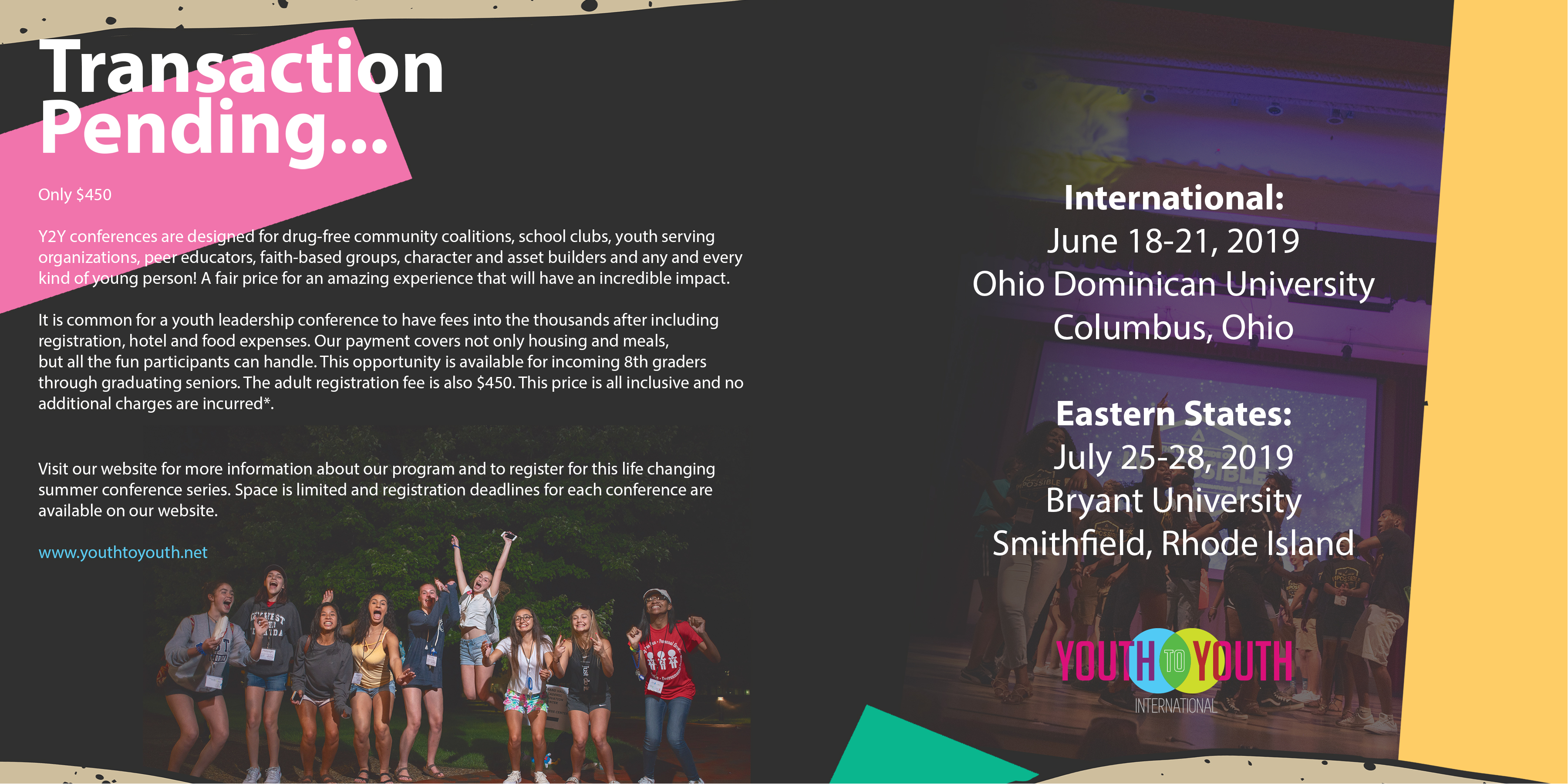 Conferences | Youth to Youth International